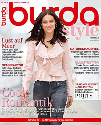 Burda style 2014 #10 Oktober-Ausgabe (Vintage-mode-magazin)