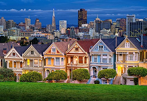 Castorland C-103751 - Painted Ladies, San Francisco - 1000 Teile Puzzle (Ladies Painted)