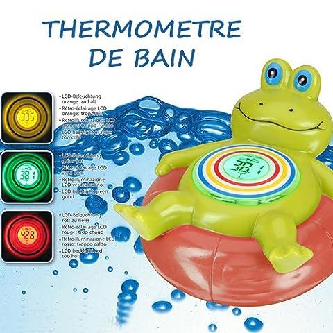 Switel Thermomètre de Bain Numérique BC300 Rouge