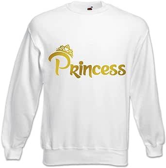 Felpa Unisex Princess con Corona