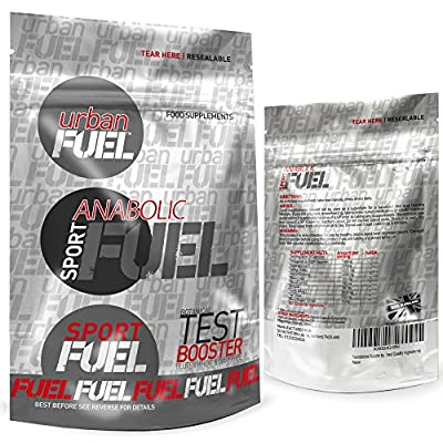 Urban Fuel Anabolic Fuel Testosterone Booster | The Best Botanical Formula for Mass Gain, Better Vitality & Muscle Growth. by Urban Fuel