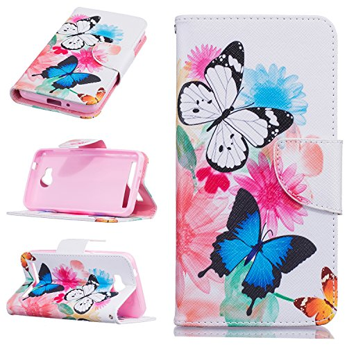 Preisvergleich Produktbild Huawei mobile phone skin protector accessories-Hülle aus Leder für Huawei Mate 8/Huawei Y3 ii/Y5 ii/Honor 5A/Y6 ii Telefone & Handys Zubehör (Huawei Y3 II, Butterfly)
