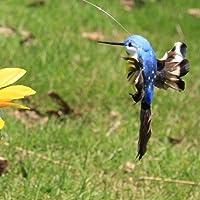 Colibri à énergie solaire, beau colibri volant à énergie solaire, décoration de jardin, décoration de maison amusante