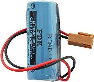 Sanyo Fdk Lithium Batterie Cr17450e R Size A Mit Kabel Elektronik