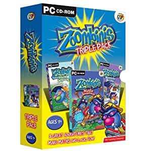 Zoombinis Triple Pack