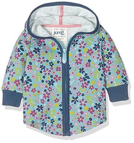 Kite Lulworth Hoody, Sweat-Shirt à Capuche Bébé Fille, Blue (Azure), 3-6 Mois