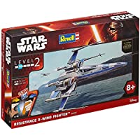 Revell Star Wars Easykit Episode VII The Force Awakens, Resistance X-Wing Fighter - Forza Snap