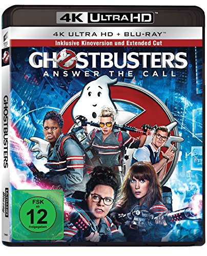 Ghostbusters - Extended Cut - Ultra HD Blu-ray [4k + Blu-ray Disc]