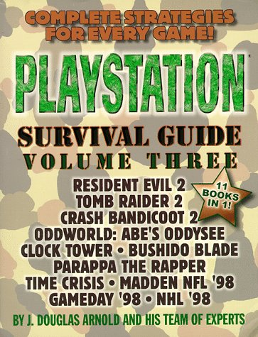 PLAYSTATION Survival Guide: v. 3 por J.Douglas.etc. Arnold