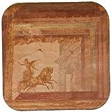 3dRose CST 82061_ 1Italia, Campania, POMPEYA. Fresco en Macellum EU16BJA0116Jaynes galería Suave Posavasos, Juego de 4
