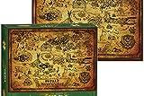 The Legend of Zelda - Hyrule Map Collector'S Puzzle (550Pcs)