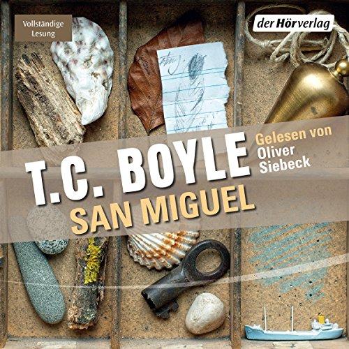 Buchseite und Rezensionen zu 'San Miguel' von T.C. Boyle
