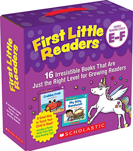 Parent Pack: Guided Reading Levels E & F: 16 Irresistible Books That Are Just the Right Level for Growing Readers ()
