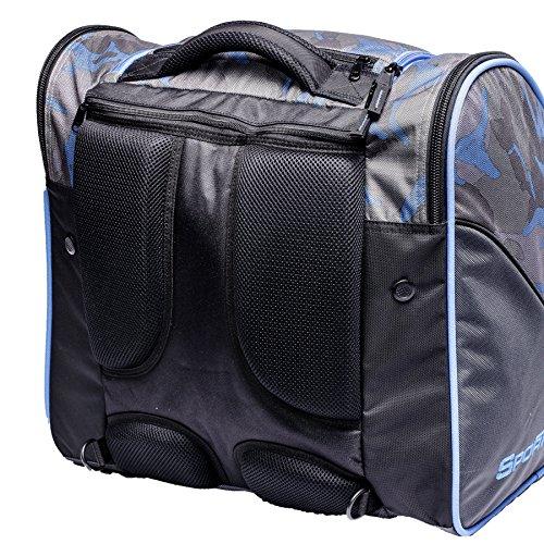 Sportube Free Rider Boot Rucksack und Gear Tasche Blau - camouflage