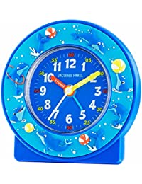 Jacques Farel–Despertador infantil delfines Azul sin tic tac) ACN 47
