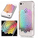 Artfeel Coque pour iPhone 5C Bling Briller,Clair Transparent Souple Silicone TPU...