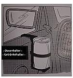 Dosenhalter, Getränkehalter, Halter (2 Stück als Set) Farbe blau fürs Auto