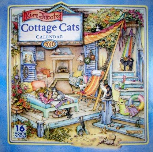 Kim Jacobs Cottage Cats Calendar