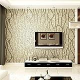 reyqing 3D dreidimensionale Relief, modernen Vliestapete, Fernseher Hintergrund, Wand-Papier, tief Druck, dick Linien, Mandel, Tapete nur