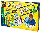 SES 14585 Creative 14585-Ich lerne Laubsägen, Kinder Bastelset, gelb
