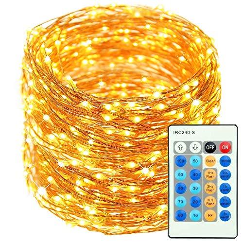 Guirnalda Luces - 50m 500 LED Extra largas Cadena