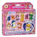 Aqua beads Art glitter beads mascot set AQ-100 (japan import)