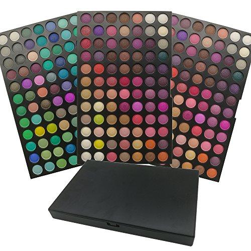 AMBITO 252 colores Paleta de sombra de ojos cosmética de alta calidad Maquillaje Sombra de Ojos Paleta Profesional Cosmético de Belleza Ojo Shadow Conjunto de Paleta