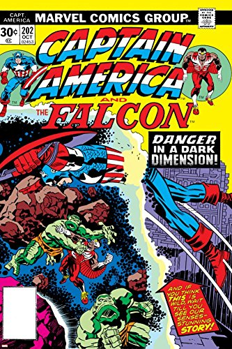 PALOMA NIEVES Captain America and The Falcon No.202 Cover: Captain America and Falcon Fighting and Flying Poster by Jack Kirby 24 x 36in -