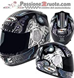 Suomy KSAP0016.6 Casco Moto, Nero, XL