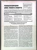 Die Bedeutung der Landwirtschaftswissenschaft für die heutige Nahrungsversorgung, in: FORSCHUNGEN UND FORTSCHRITTE, Nr. 18, 20. Juni 1940.