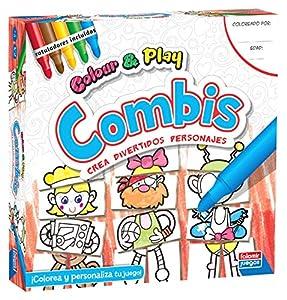Falomir Color & Play Combis, Juego de Mesa, Manualidades, (1)