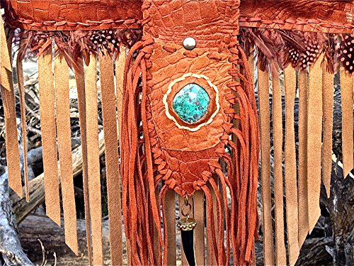 moboixs-bohemian-model-brown-cross-body-leather-bag-with-a-turquoise-and-feathers-the-bag-can-be-fol