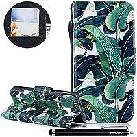 Handyhülle Samsung Galaxy J3 2018,HUDDU Baum Flipcase Leder Tasche Hülle in Blau Wallet Case Stand Wrist Strap... preisvergleich bei billige-tabletten.eu