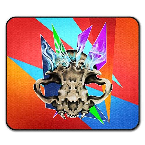 skull-head-bone-flaming-non-slip-mouse-mat-pad-24cm-x-20cm-wellcoda