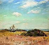 Das Museum Outlet–Shinnecock Hills, Long Island, gespannte Leinwand Galerie verpackt. 29,7x 41,9cm