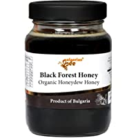450 g Organic Raw Black Forest Bee Honey, Oak Forest Honeydew from Aphids