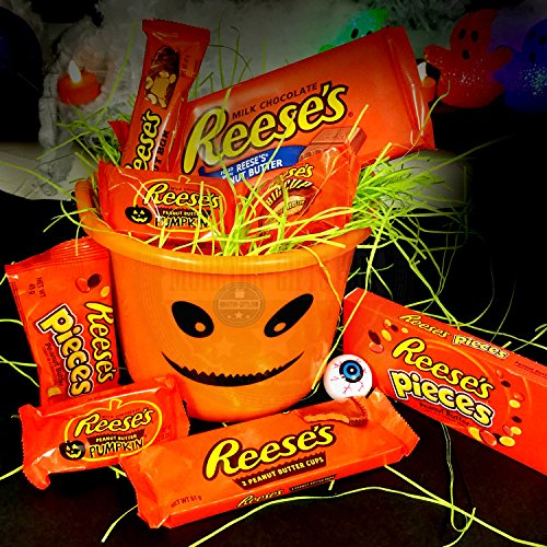 Reeses Halloween Trick Or Treat Fun Bucket Pieces
