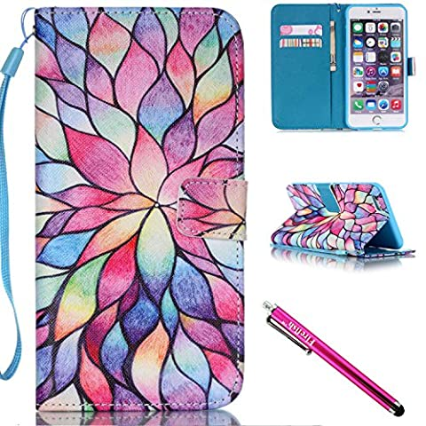 iPhone 5S Case, iPhone 5 Wallet Case, Firefish [Card Slots]