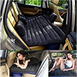 LABABE Sedans und SUV aufblasbare Matratze mit Luftpumpe / Hochleistungs-aufblasbares Auto-Matratzen-Bett für SUV Minivan-Rücksitz Verlängerte Matratze-Mobiles aufblasbares Luft-Bett-Kissen gewidmet für Schlaf-Rest und vertraute Bewegung