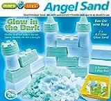Angel Sand - Kinetischer Spielsand - Castle Glow in the dark - Der Sand der im Dunkeln leuchtet! by Maro Toys