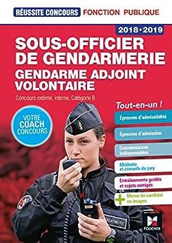 Réussite Concours Sous-officier de gendarmerie / Gendarme adjoint volontaire