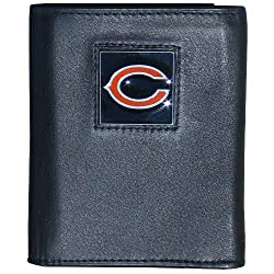 NFL Chicago Bears Leather Tri-fold Wallet
