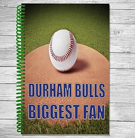 Durham Bulls Biggest Fan–A5Baseball ordinateur portable/bloc-notes/bloc de dessin