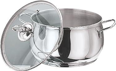 Vinod Cookware Tall belly Casserole Set, 2-Pieces
