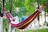MONEYY Die einzelne Person Sommer Hängematten Hängematte Leinwand Leinwand bold nach Aufzug Internet nach innen Robuste schlafen web Swing, 200 * 150 cm, d2