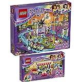 Lego Friends Freizeitpark 2er Set 41129 41130 Hot-Dog-Stand + Großer Freitzeitpark - sofort lieferbar!