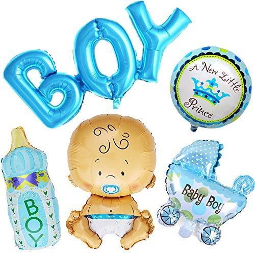 umballon Baby Folienballon Babyshower Babyparty Party und Dekoration (Junge) ()
