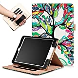 - iPad und Fälle 2017, iPad Fällen 2017, iPad 9,7 Fall, ipad9.7Fall, ipad9.7Sleeve Cases und Abdeckungen, Slim PU Snap auf schmalem Schutzhülle für Apple iPad 9,7Rückseite Cover, Road Love Baum