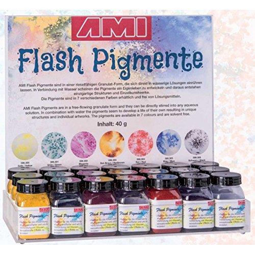 586310 - Flash Pigmente Display bestückt