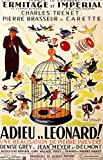 Reproduction of a poster presenting - 1943Adieulonard - A3 Poster Prints Online Buy